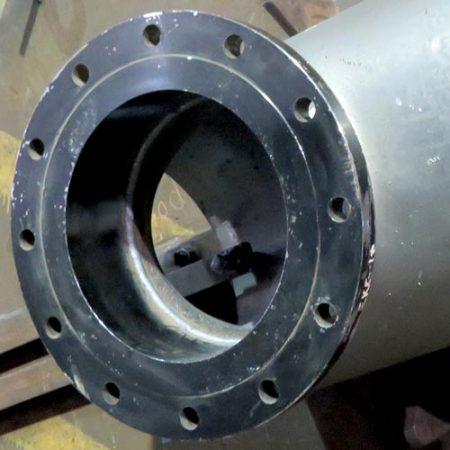 Hot tap welding tee